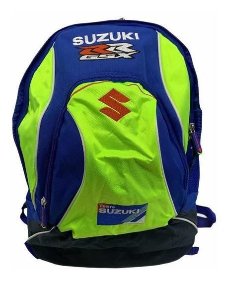Mochila Original Suzuki Gsx Rr Srad Moto Gp Team Suzuki  - Nova Suzuki Motos e Acessórios