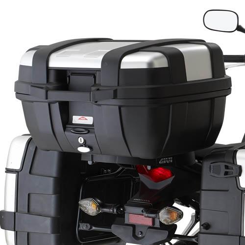 Monorack Givi 1121FZ p/Honda CB500X 2014 (utilizar base M-5 ou M-5M) Pronta Entrega  - Nova Suzuki Motos e Acessórios