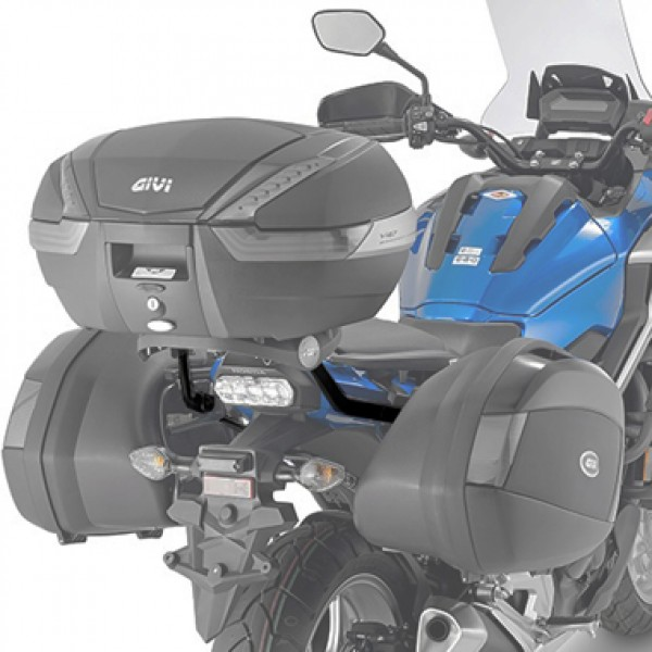 Monorack Givi 1146FZ p/ Honda NC750X 16/17 (utilizar base M-5 ou M-5M) (CONSULTE-NOS)  - Nova Suzuki Motos e Acessórios