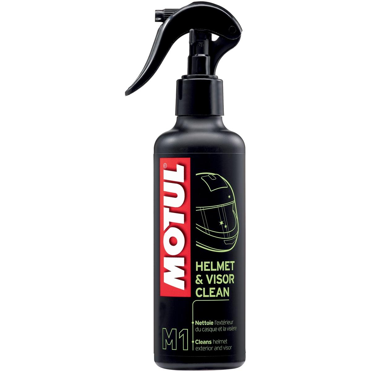 Spray Limpador Motul MC Care M1 - Cuidado com Capacetes e Viseiras 250ML  - Nova Suzuki Motos e Acessórios