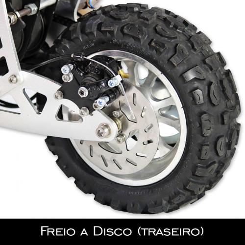Patinete Motork 50cc Dropboards (Motorizado)  - Nova Suzuki Motos e Acessórios