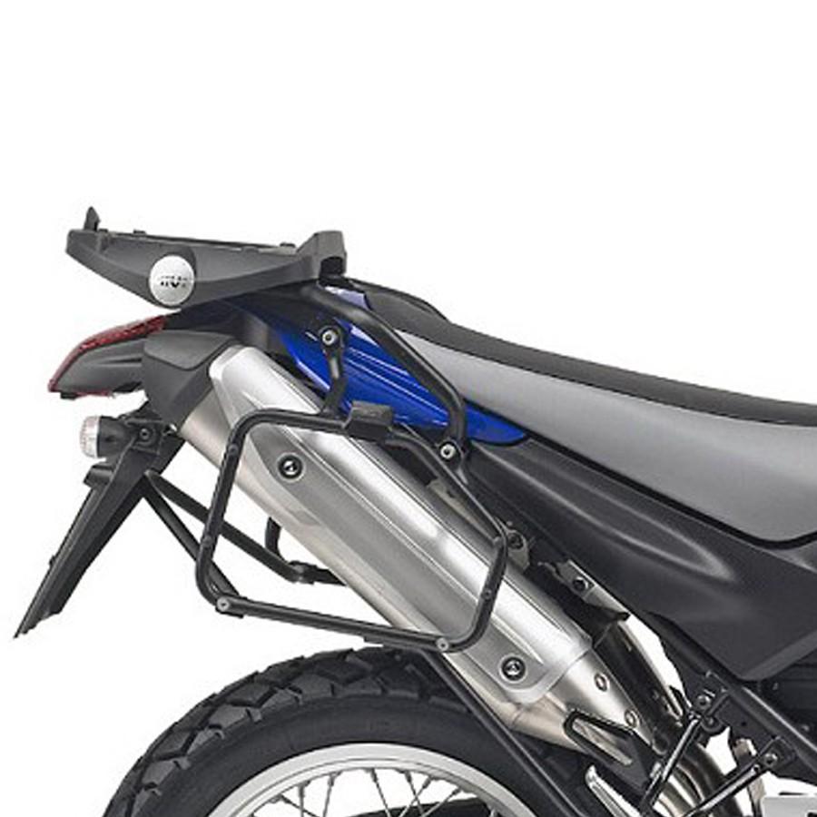 Suporte Lateral PL353 p/ baú Givi (E21 e E22/E41/E360/TREKKER) de Yamaha XT 660R  - Nova Suzuki Motos e Acessórios