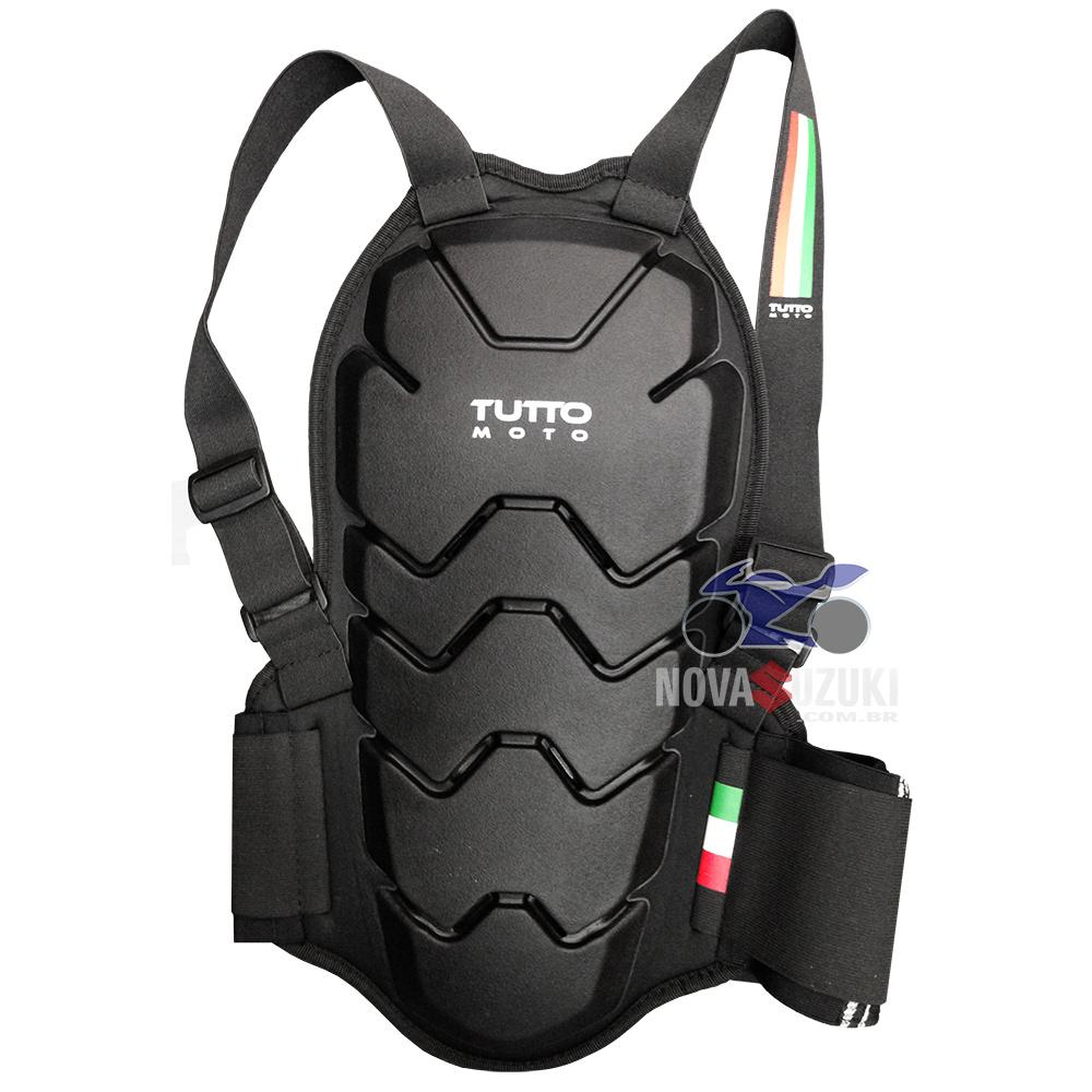 Protetor de Coluna Tutto Moto - Ele está de Volta!  - Nova Suzuki Motos e Acessórios