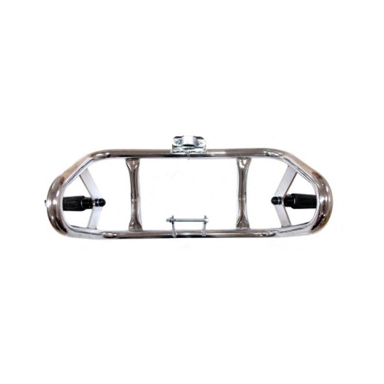 Protetor de motor Dianteiro Way p/ Haojue Chopper Road 150  - Nova Suzuki Motos e Acessórios