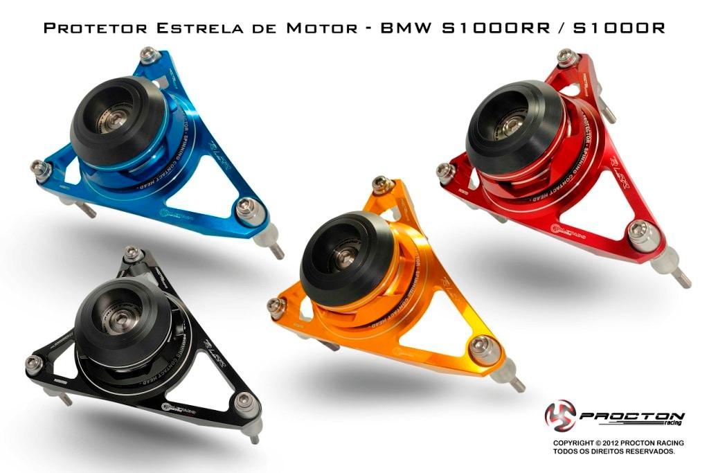 Protetor De Motor Estrela Procton P/ BMW S1000RR / NAKED  - Nova Suzuki Motos e Acessórios
