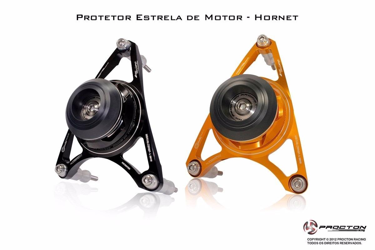 Protetor De Motor Estrela Procton P/ HORNET 08/14 / CBR600F  - Nova Suzuki Motos e Acessórios
