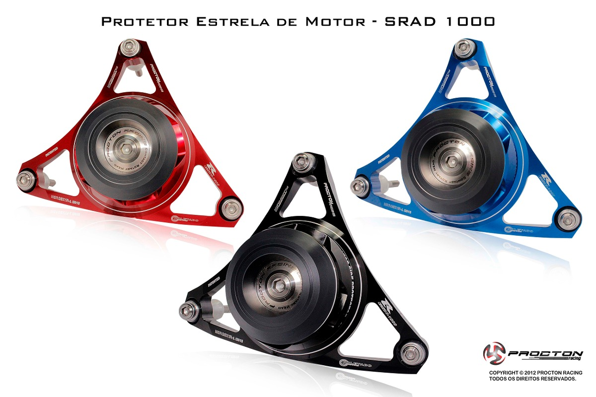 Protetor De Motor Estrela Procton P/ SRAD1000 11/16  - Nova Suzuki Motos e Acessórios