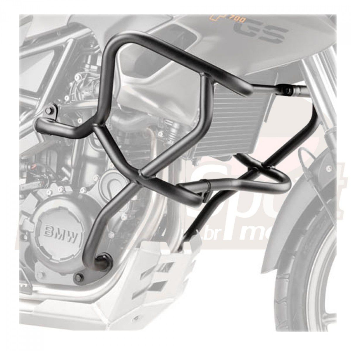 Protetor de Motor Givi TN5103 F800GS 2014 / F700GS 13-17 - Pronta Entrega  - Nova Suzuki Motos e Acessórios