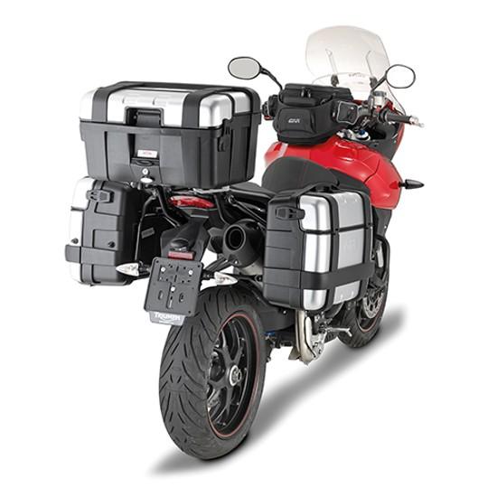 Rack/Base p/ Baús Givi Importados/Monokey de Triumph Tiger 1050 Sport - 13/16 (SR6404) - Pronta Entrega  - Nova Suzuki Motos e Acessórios