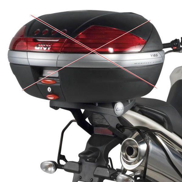 Base/Rack Givi Monokey para Triumph Tiger 1050 07 à 12 (SR225) - Pronta Entrega  - Nova Suzuki Motos e Acessórios