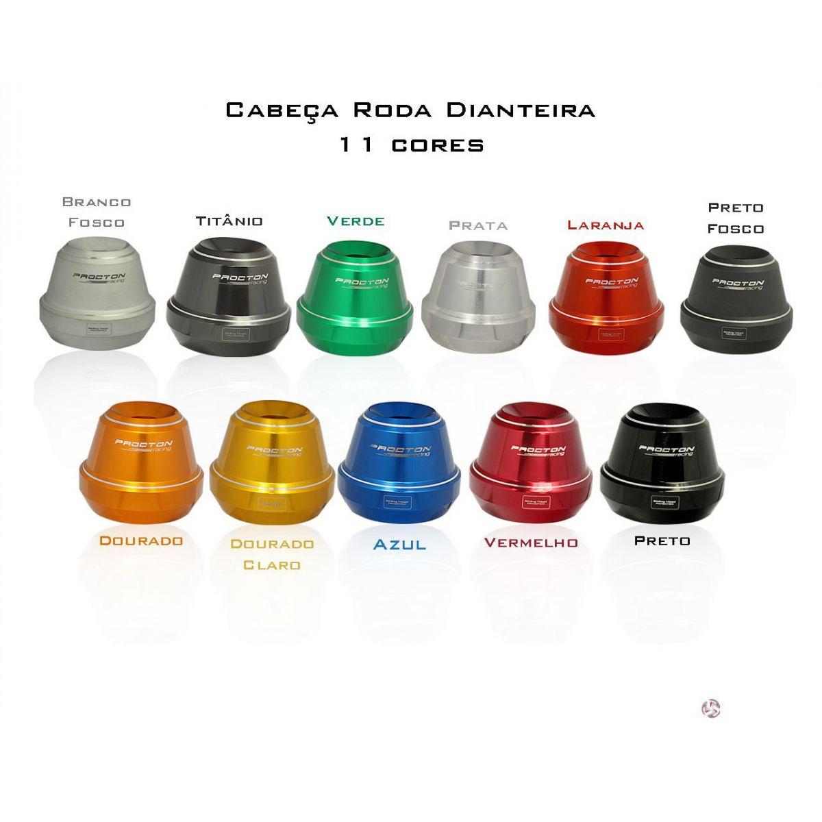 Slider roda dianteira CB1000/CBR600F/HORNET 08/14 /CBR650  - Nova Suzuki Motos e Acessórios