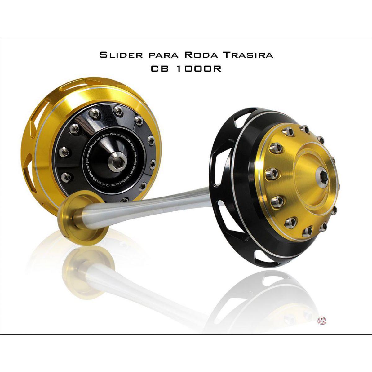 Slider Roda Traseiro GSR750N (Acab. Curto)  - Nova Suzuki Motos e Acessórios