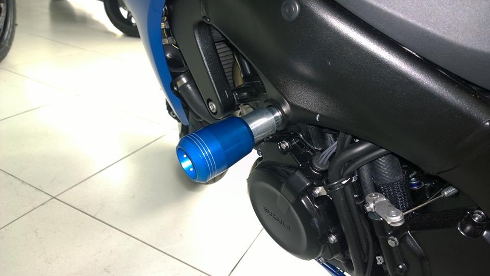 Slider Dianteiro Zarc Cônico Para Suzuki GSX S1000 (Várias Cores)  - Nova Suzuki Motos e Acessórios
