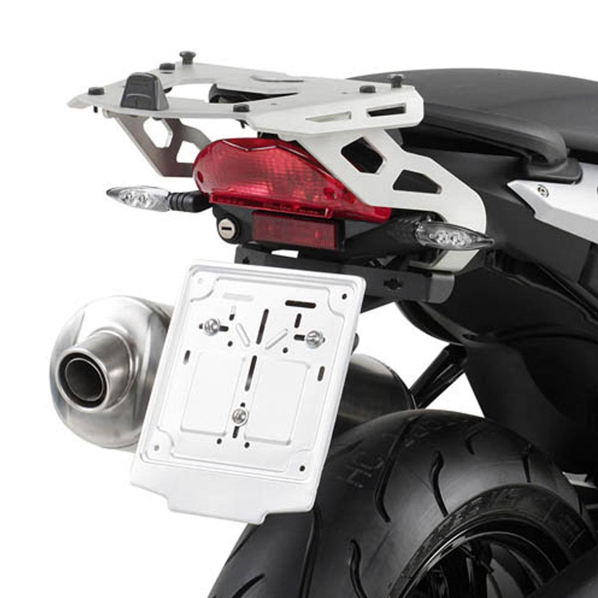 Base/Rack para Baús Monokey BMW F800 R 09-17 (SRA691 em alumínio)- Pronta Entrega  - Nova Suzuki Motos e Acessórios