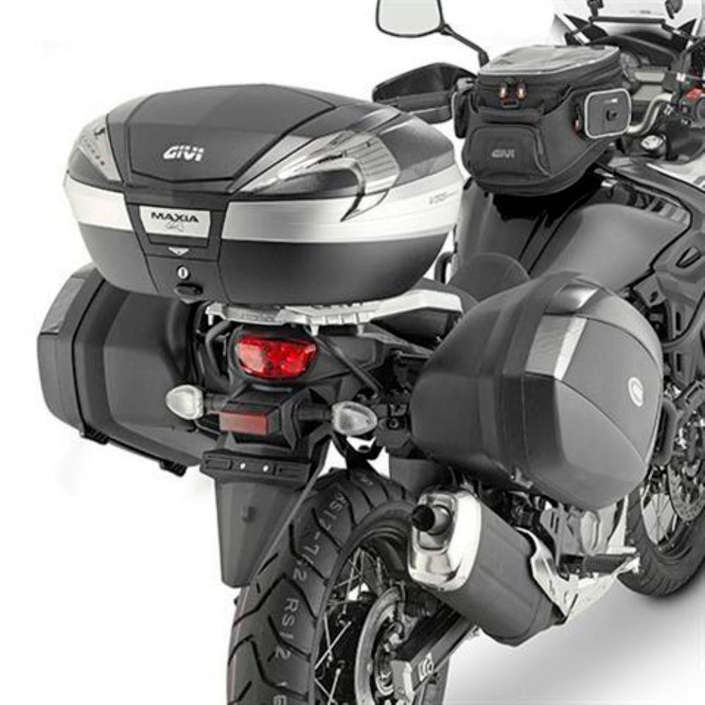 Suporte Lateral Givi PLX3112 p/ DL 650 V-Strom 17/20 (V-35)  - Nova Suzuki Motos e Acessórios