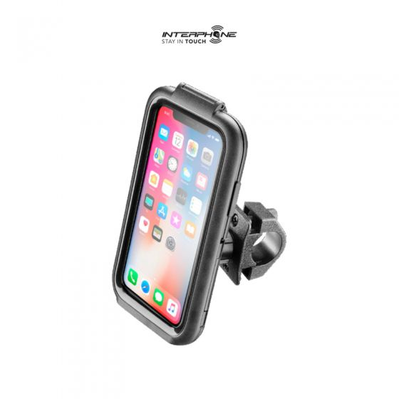 Suporte de Telefone Para Moto ICase Iphone 10 / X (Interphone)  - Nova Suzuki Motos e Acessórios