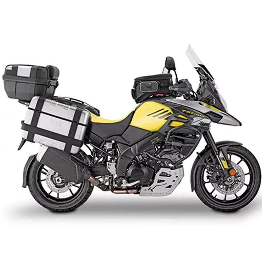 Suporte Lateral Givi PLXR3114 Bau V35 Monokey p/ DL 1000 V-Strom 17/18  - Nova Suzuki Motos e Acessórios
