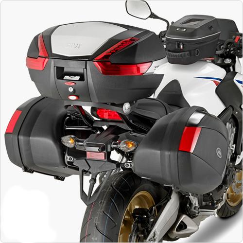 Suporte lateral Givi PLX1137 p/ Honda CBR650F 15-17  - Nova Suzuki Motos e Acessórios