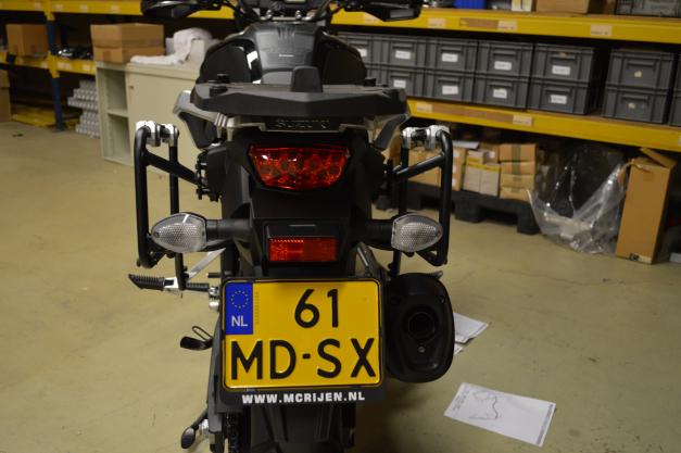 Suporte Lateral PL5101CAM para baú Givi OUTBACK TREKKER - BMW G650GS - Consulte-nos  - Nova Suzuki Motos e Acessórios