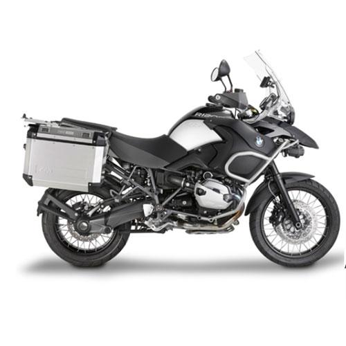 Suporte Lateral PL684CAM para baú Givi OUTBACK TREKKER - BMW R1200GS e Adventure - Consulte-nos  - Nova Suzuki Motos e Acessórios