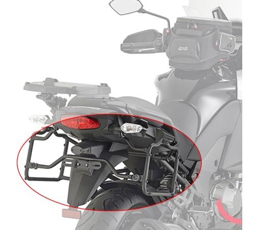 Suporte Lateral PLR4113 Givi - Versys 1000 - 15-16 - (CONSULTE-NOS)  - Nova Suzuki Motos e Acessórios