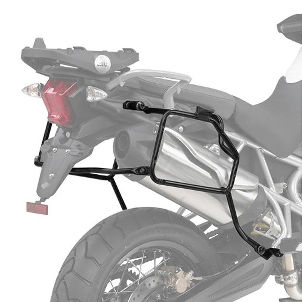 Suporte Lateral PLR6401 Givi - Tiger 800/800XC - 11-15  - Nova Suzuki Motos e Acessórios