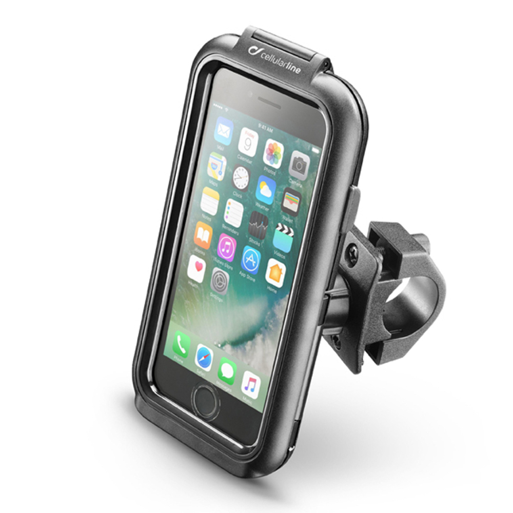 Suporte de Telefone Para Moto ICase Iphone 7/8 (Interphone)  - Nova Suzuki Motos e Acessórios