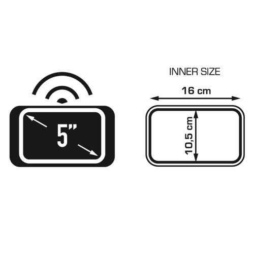 Suporte para Smartphone/GPS S954 (Compatível com Galaxy S2 e S4)  - Nova Suzuki Motos e Acessórios