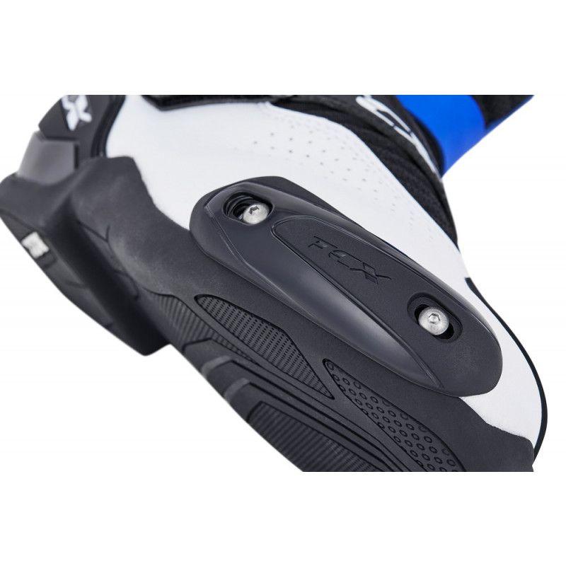 Tênis de Pilotagem/Bota TCX ROADSTER 2 AIR Preto/Branco/Azul  - Nova Suzuki Motos e Acessórios