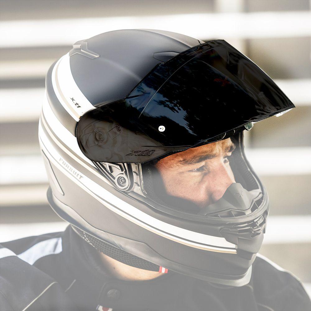 Viseira Nexx Fechado XT1 Fumê  - Nova Suzuki Motos e Acessórios
