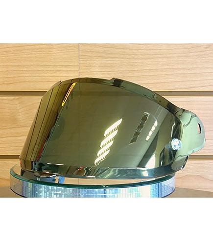Viseira Nexx XR2 Espelhada Dourada  - Nova Suzuki Motos e Acessórios