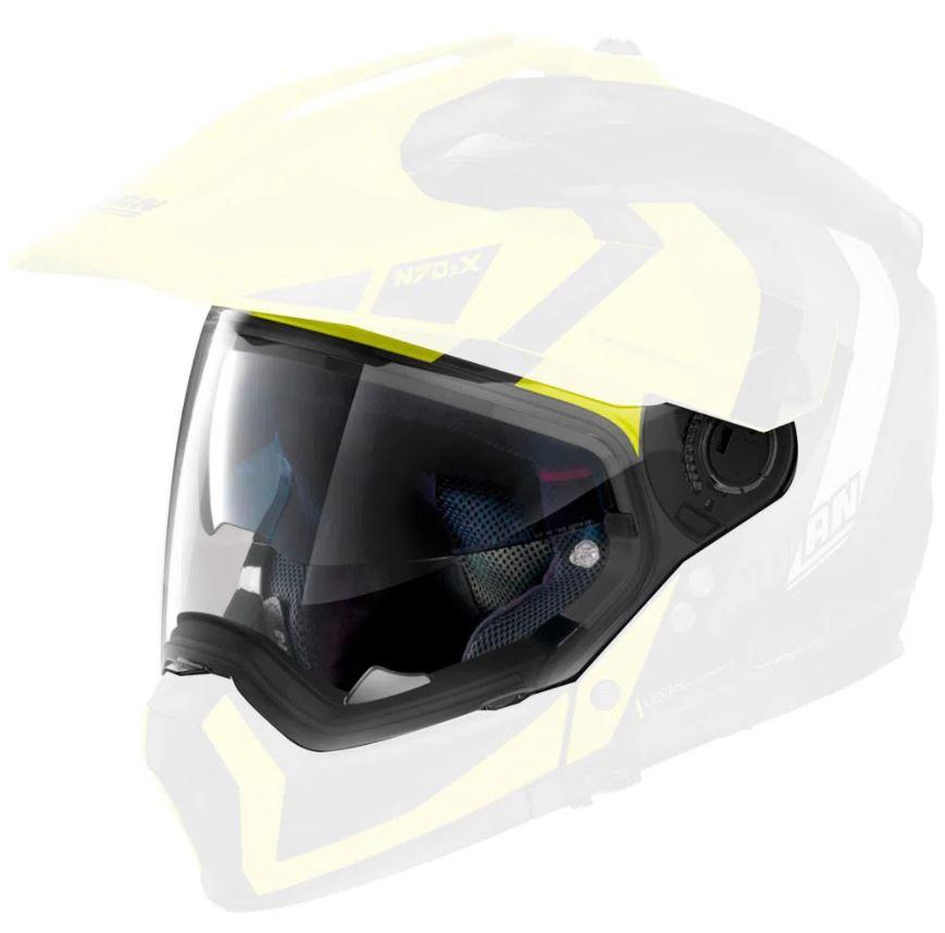Viseira Nolan N70-2X Cristal  - Nova Suzuki Motos e Acessórios