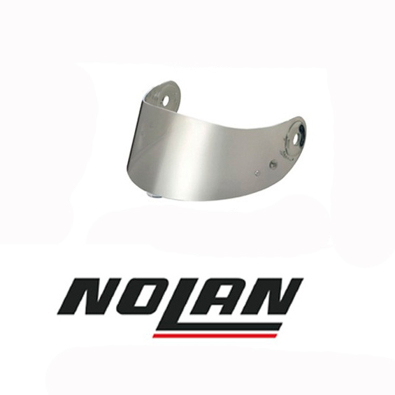 Viseira Nolan N87/N85 Espelhada Prata  - Nova Suzuki Motos e Acessórios