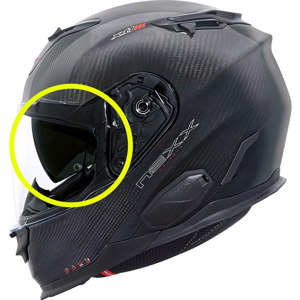 Viseira Solar Interna Nexx XT1 Fumê (Óculos)   - Nova Suzuki Motos e Acessórios