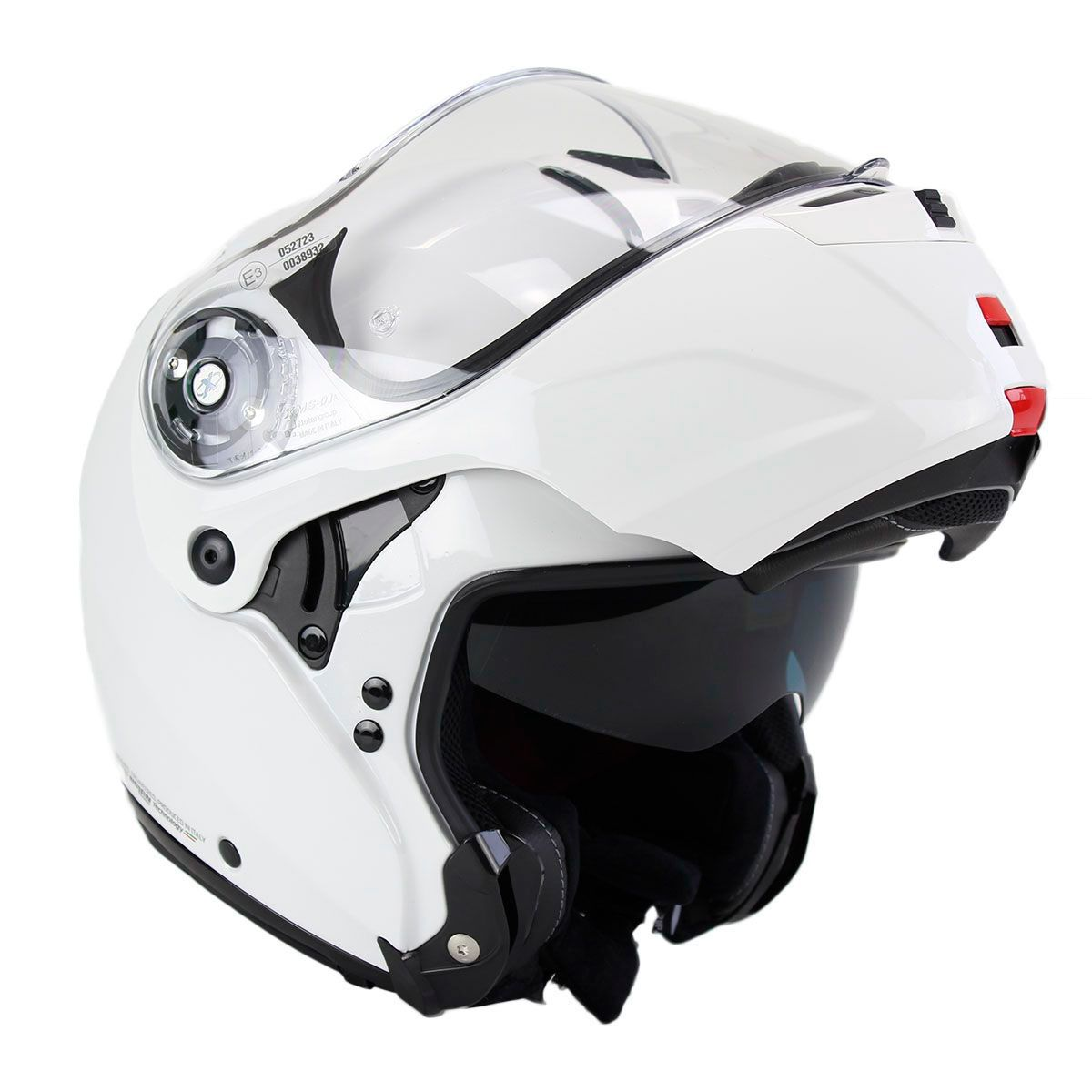 Capacete X-Lite X-1004 Elegance White - Escamoteável / Articulado  - Nova Suzuki Motos e Acessórios