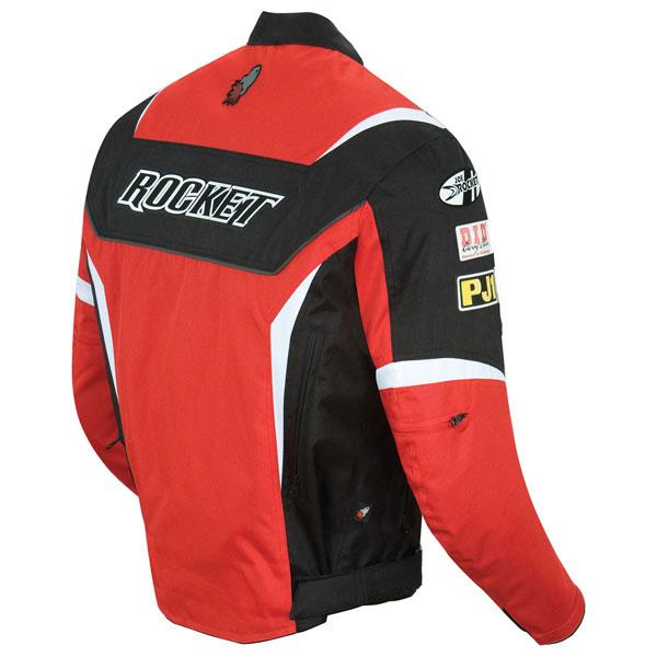 Jaqueta Joe Rocket Ufo Solid Vermelha  - Super Bike - Loja Oficial Alpinestars