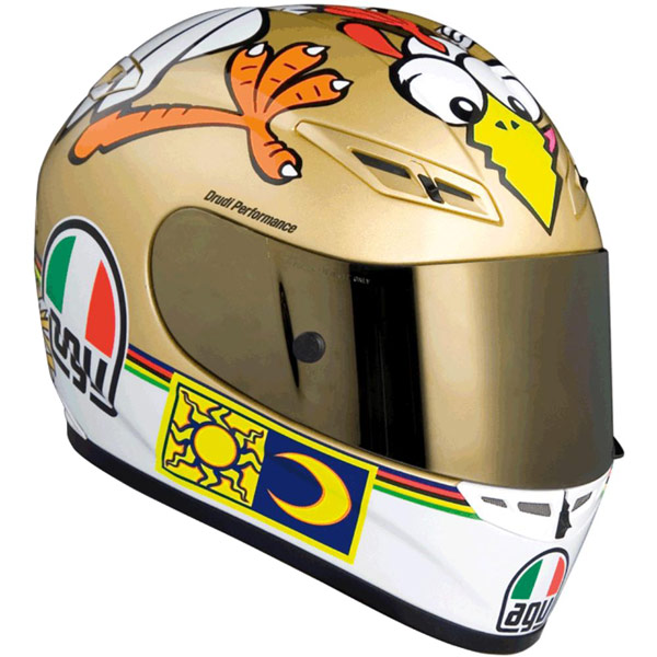 Capacete AGV GP-TECH Rossi Chicken   - Super Bike - Loja Oficial Alpinestars