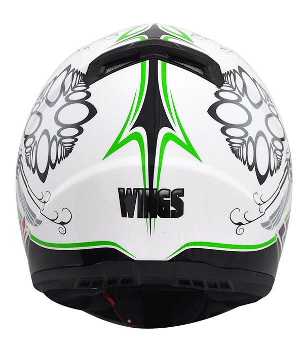 Capacete LS2 FF358 Wings - verde Promo - Ganhe Boné LS2 !!  - Super Bike - Loja Oficial Alpinestars