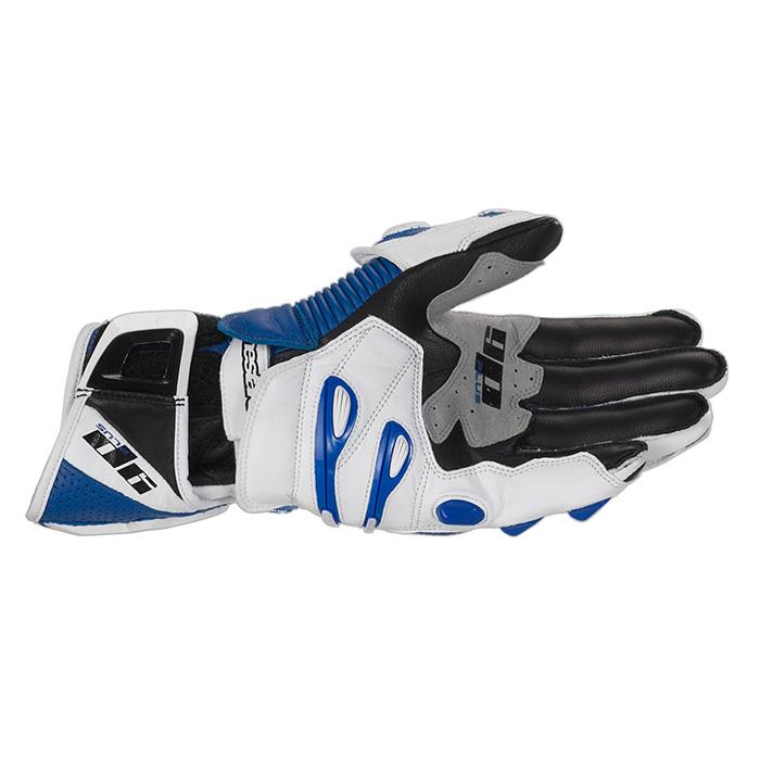 Luva Alpinestars GP Plus - Azul Antiga  - Super Bike - Loja Oficial Alpinestars