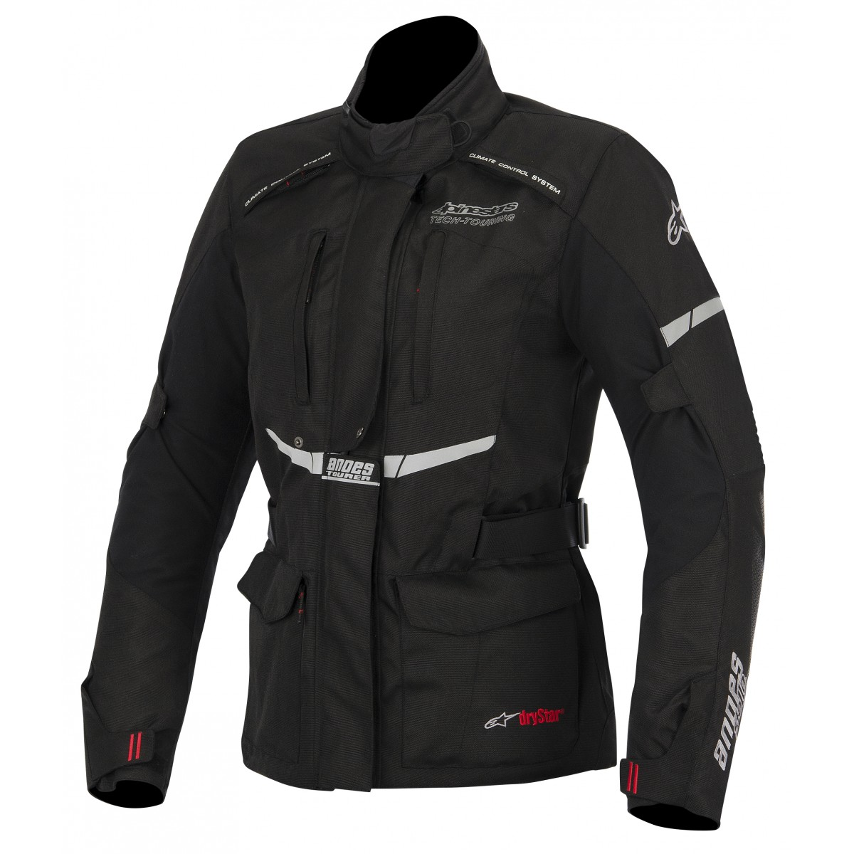 Jaqueta Alpinestars Stella Andes Drystar® WP Preta/ Feminina  (COMPRE JUNTO!) para Big Trail  - Super Bike - Loja Oficial Alpinestars