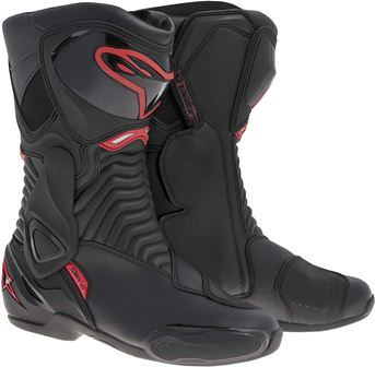 0 Bota Alpinestars SMX-6 Black Red (41/42 e 45 EUR)  - Super Bike - Loja Oficial Alpinestars