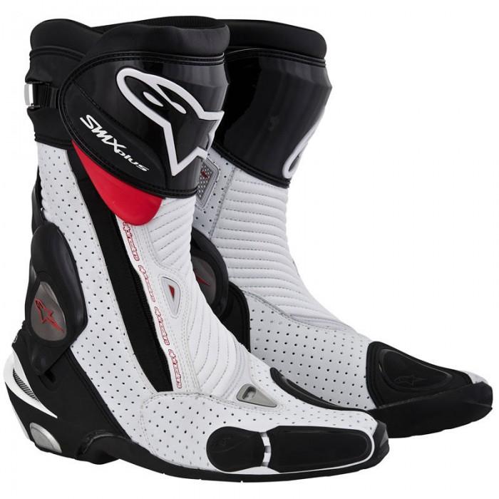 Bota Alpinestars SMX-Plus (Tricolor/ Ventilada)  - Super Bike - Loja Oficial Alpinestars