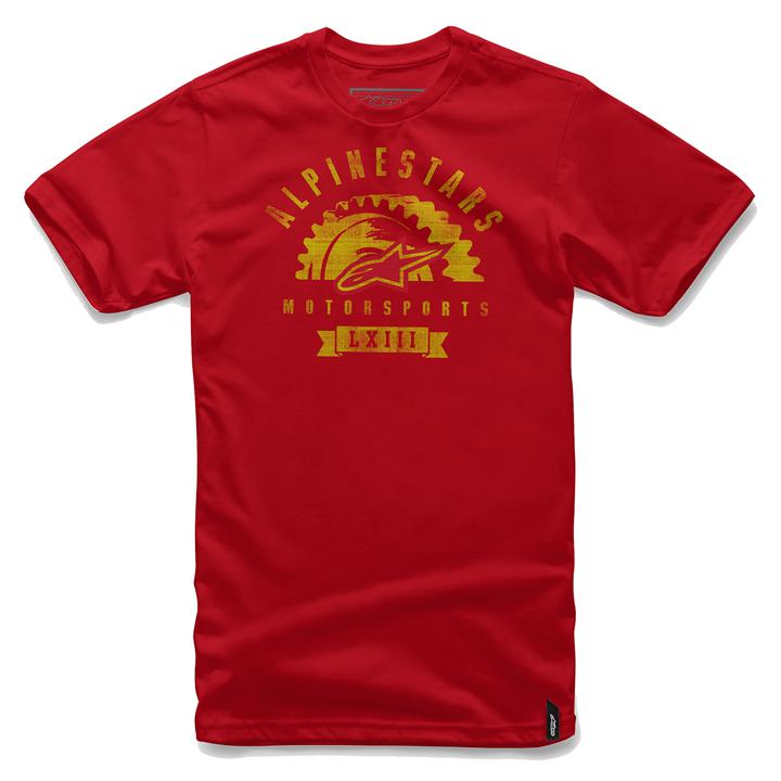 Camiseta Alpinestars Apparat Red Lançamento!!  - Super Bike - Loja Oficial Alpinestars
