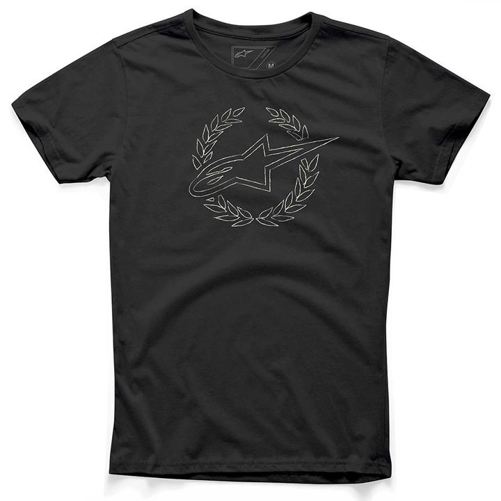 Camiseta Alpinestars Defeat Preta  - Super Bike - Loja Oficial Alpinestars