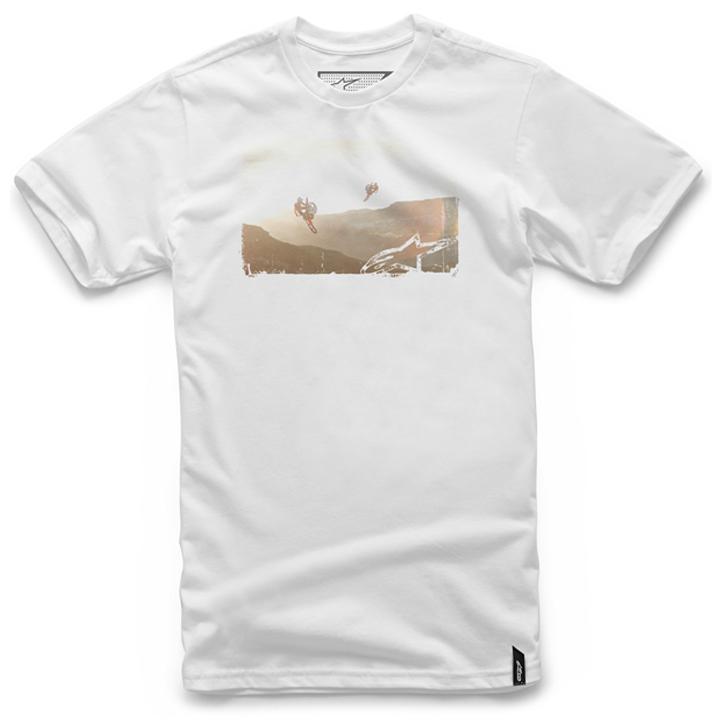 Camiseta Alpinestars Dreamtime Tee (White) Lançamento 2016  - Super Bike - Loja Oficial Alpinestars