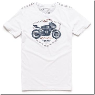 Camiseta Alpinestars Etch White Lançamento!! (Limitado)  - Super Bike - Loja Oficial Alpinestars
