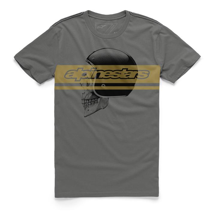 Camiseta Alpinestars Mind Tee (Cinza) Lançamento 2016  - Super Bike - Loja Oficial Alpinestars