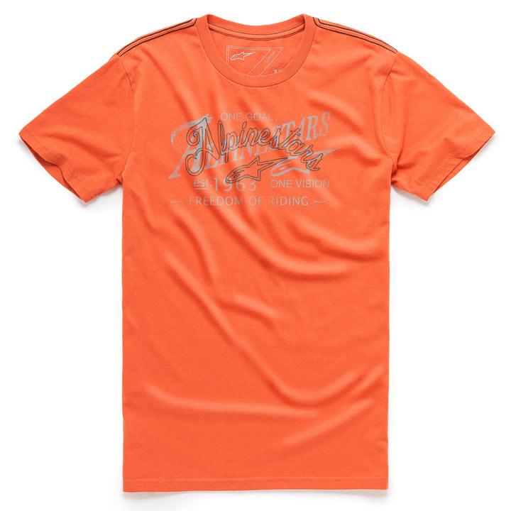 Camiseta Alpinestars Scratch Laranja Lançamento!!  - Super Bike - Loja Oficial Alpinestars