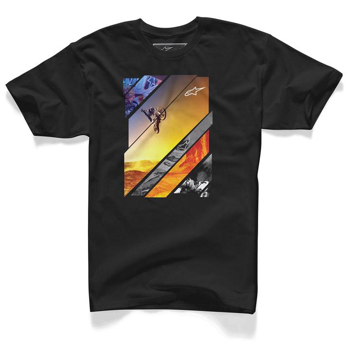 Camiseta Alpinestars Solaris Preta Lançamento!!  - Super Bike - Loja Oficial Alpinestars