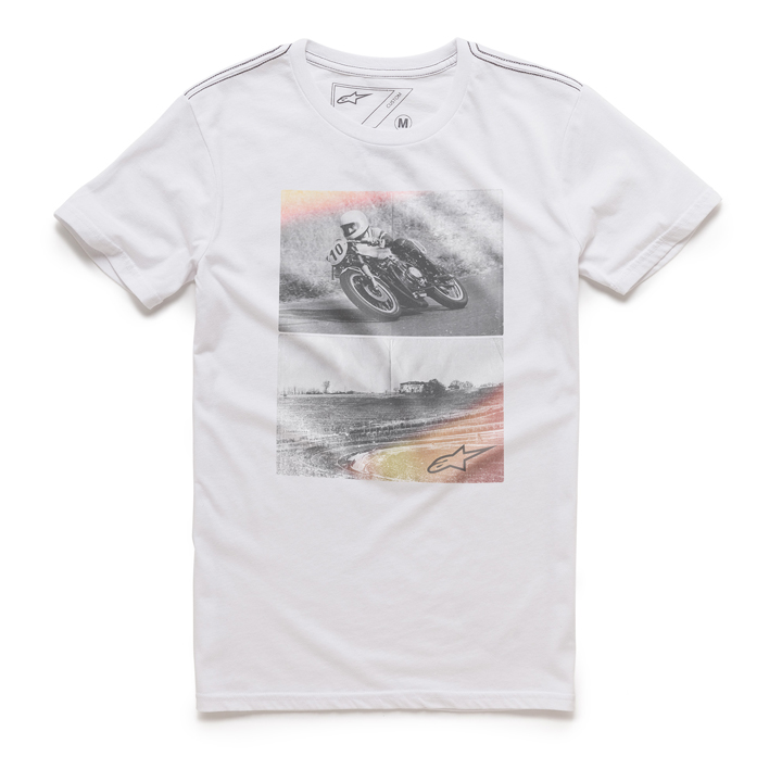 Camiseta Alpinestars Stack (White) Lançamento 2016  - Super Bike - Loja Oficial Alpinestars